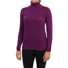 Snow Angel Cashmere Turtleneck - Long Sleeve (For Women) in Garnet - Closeouts