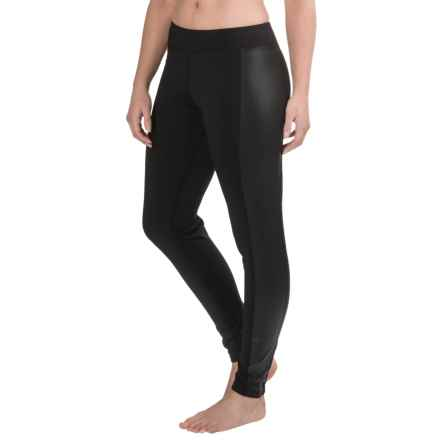 Snow Angel Chami Moto Slimline Leggings (For Women) in Black - Closeouts