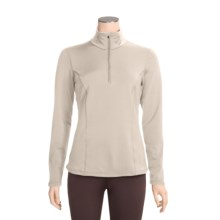 Snow Angel Chamonix Base Layer Top - Zip Neck, Long Sleeve  (For Women) in Ivory - Closeouts