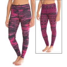 Snow Angel Dakota Duo Base Layer Bottoms - Reversible (For Women) in Hot Pink - Closeouts