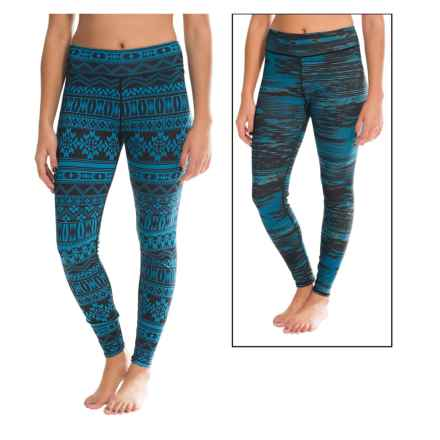 Snow Angel Dakota Duo Base Layer Pants- Reversible (For Women) in Turquoise - Closeouts