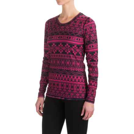 Snow Angel Dakota Duo Reversible Base Layer Top - Scoop Neck, Long Sleeve (For Women) in Hopi - Closeouts