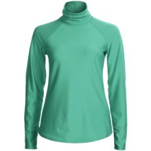 Snow Angel Doeskin Base Layer Turtleneck - Midweight, Long Sleeve (For Women) in Mint - Closeouts