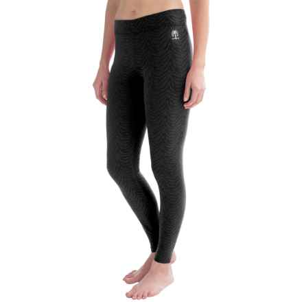Snow Angel Luxe Lace Base Layer Leggings (For Women) in Black - Closeouts