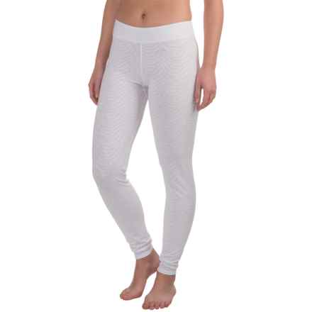 Snow Angel Luxe Lace Base Layer Leggings (For Women) in White - Closeouts