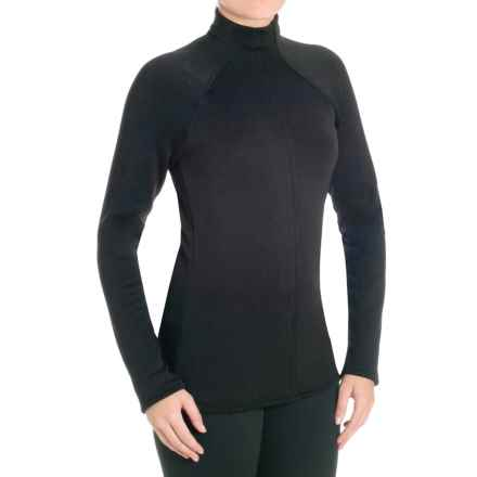 Snow Angel Minx Snuggle Base Layer Turtleneck - Long Sleeve (For Women) in Black - Closeouts