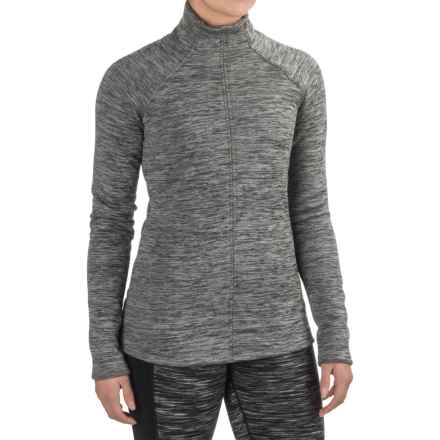 Snow Angel Minx Snuggle Base Layer Turtleneck - Long Sleeve (For Women) in Stone - Closeouts