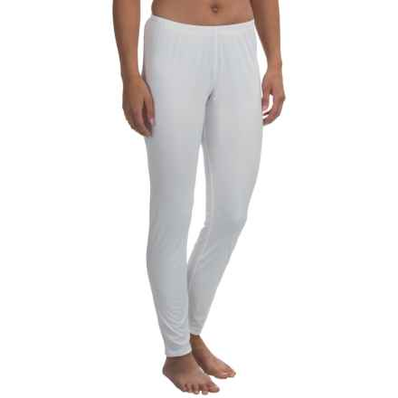Snow Angel Primatesse Base Layer Bottoms - UPF 30+ (For Women) in White - Closeouts