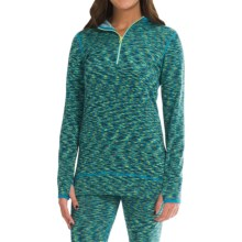 Snow Angel Ultima Base Layer Hoodie Top - Long Sleeve (For Women) in Diva Blue - Closeouts