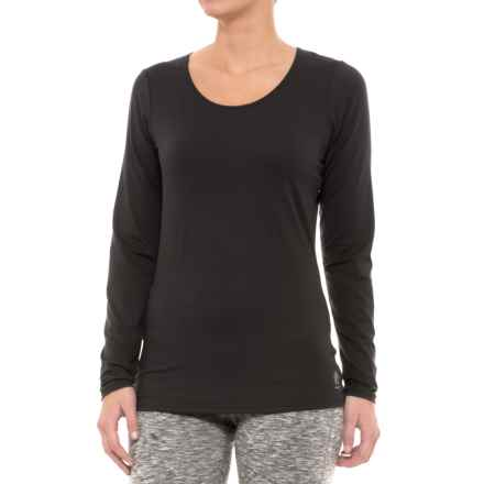 Snow Angel Veluxe Classic Base Layer Top - Scoop Neck, Long Sleeve (For Women) in Black - Closeouts