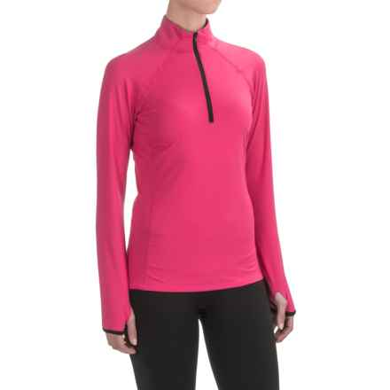 Snow Angel Veluxe Color Splash Base Layer Top - Zip Neck, Long Sleeve (For Women) in Hopi - Closeouts