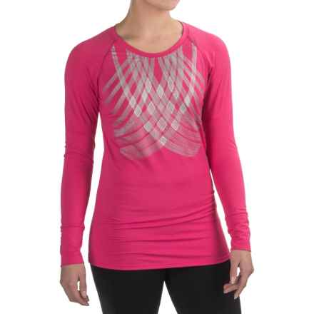 Snow Angel Veluxe Galaxy Base Layer Top - Long Sleeve (For Women) in Hopi - Closeouts