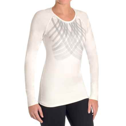 Snow Angel Veluxe Galaxy Base Layer Top - Long Sleeve (For Women) in White - Closeouts
