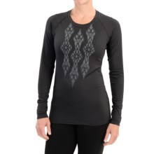 Snow Angel Veluxe Ikat Shirt - Long Sleeve (For Women) in Black - Closeouts