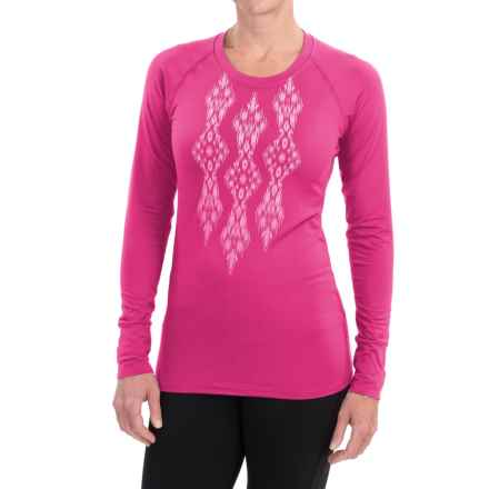 Snow Angel Veluxe Ikat Shirt - Long Sleeve (For Women) in Hopi - Closeouts