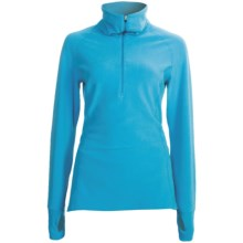 Snow Angel Vixen Velour Base Layer Top - Zip Neck, Long Sleeve (For Women) in Hypotiq - Closeouts