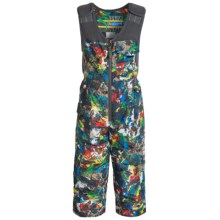 Snow Dragon Nestor Snow Bibs - Waterproof, Insulated (For Little Boys) in Graphity Print - Closeouts
