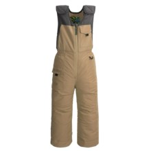 Snow Dragon Nestor Snow Bibs - Waterproof, Insulated (For Little Boys) in Tan Earth - Closeouts