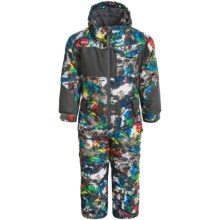 Snow Dragon Snow Day Snowsuit - Insulated (For Toddlers) in Graphity Print - Closeouts