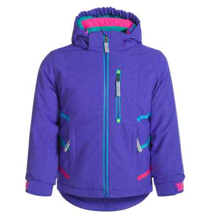Snow Dragons Jazzy Jacket - Waterproof, Insulated (For Toddlers and Little Girls) in Simply Purple - Closeouts