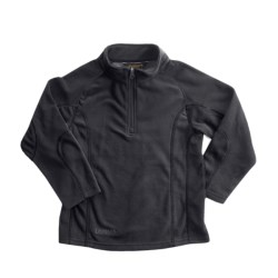 Snow Dragons Mason Microfleece Jacket - Zip Neck (For Little Boys) in Black/Black