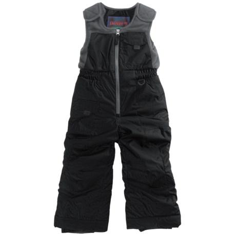 Snow Dragons Nestor Ski Bib Overalls - Insulated (For Little Boys) in Black