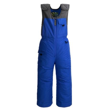 Snow Dragons Nestor Ski Bib Overalls - Insulated (For Little Boys) in Blue Rush