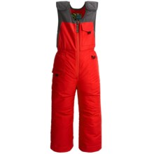 Snow Dragons Nestor Ski Bib Overalls - Insulated (For Little Boys) in Red Fury - Closeouts