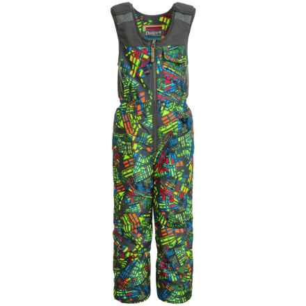 Snow Dragons Nestor Snow Bibs - Waterproof, Insulated (For Toddlers and Little Boys) in Bizarro Print - Closeouts