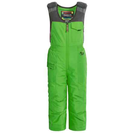 Snow Dragons Nestor Snow Bibs - Waterproof, Insulated (For Toddlers and Little Boys) in Fairway Green - Closeouts