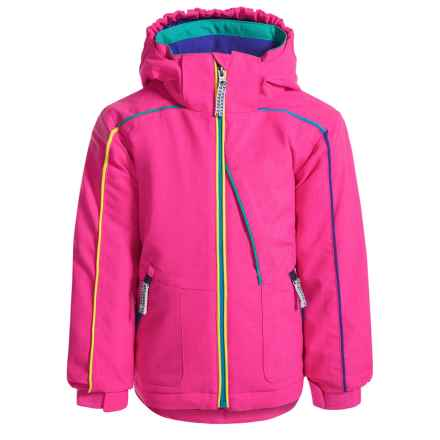Snow Dragons Razzy Ski Jacket - Waterproof, Insulated (For Toddlers and Little Girls) in Pink Shock - Closeouts