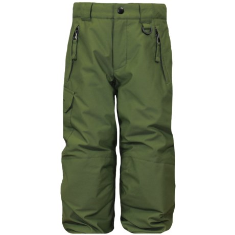 Snow Dragons Rock Solid Snow Pants - Insulated (For Little Kids) in Army Green