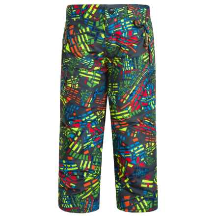 Snow Dragons Rock Solid Snow Pants - Insulated (For Little Kids) in Bizarro Print - Closeouts