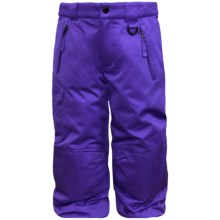 Snow Dragons Rock Solid Snow Pants - Insulated (For Little Kids) in Orchid - Closeouts