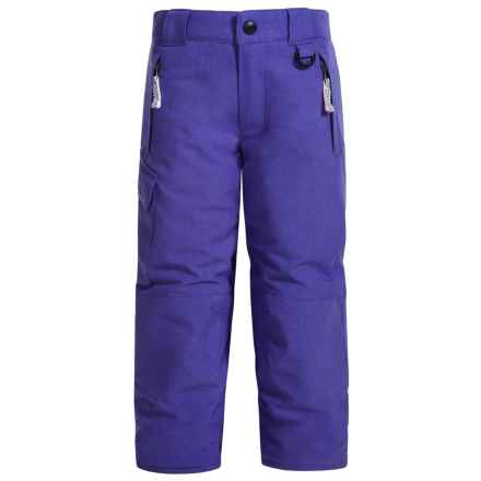 Snow Dragons Rock Solid Snow Pants - Insulated (For Little Kids) in Simply Purple - Closeouts