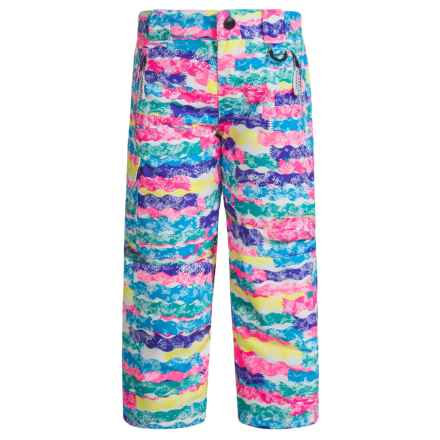 Snow Dragons Rock Solid Snow Pants - Insulated (For Little Kids) in Squiggle Print - Closeouts