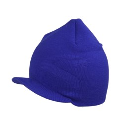Snow Dragons Seth Beanie Hat - Billed (For Little Boys) in Surf Blue