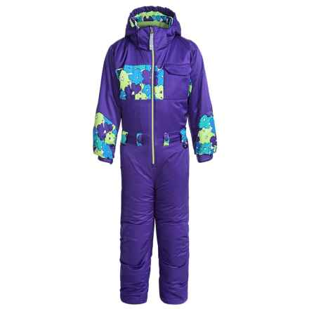 Snow Dragons Snow Day Snowsuit - Waterproof, Insulated (For Little Kids) in Purplelicious/Sweet Pea - Closeouts
