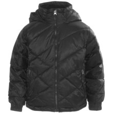 Snow Dragons Stomp Jacket - Insulated (For Little Boys) in Black/Black - Closeouts