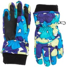 Snow Dragons Whirlwind Gloves - Insulated (For Little Kids) in Purplelicious Sweet Pea - Closeouts