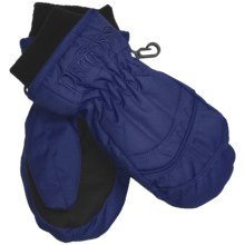 Snow Dragons Whirlwind Mittens - Waterproof, Insulated (For Kids) in Blue/Frenzy - Closeouts