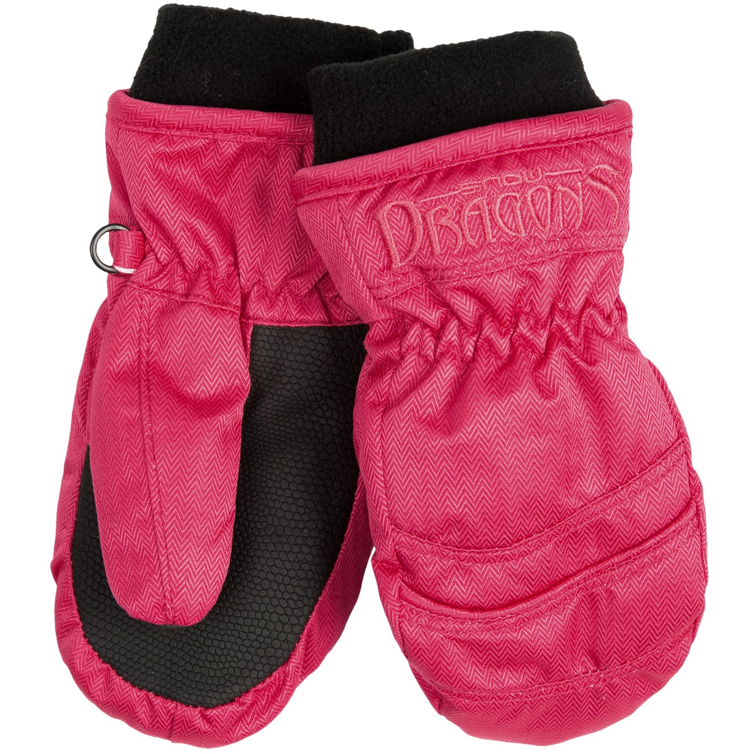 Most gloves and mittens designed for downhill skiing and snowboarding include a waterproof, breathable barrier to prevent moisture from snow and rain .