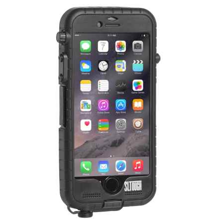 Snow Lizard SLTough Waterproof iPhone® 6/6S Case in Black - Closeouts