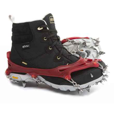 Snowline Chainsen Claw Shoe Chains in Red - Closeouts