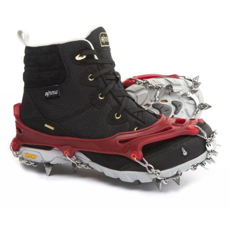 Snowline Chainsen Claw Shoe Chains in Red