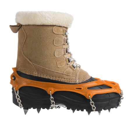 Snowline Chainsen Pro Winter Boot Tractions (For Men and Women) in Orange - Closeouts