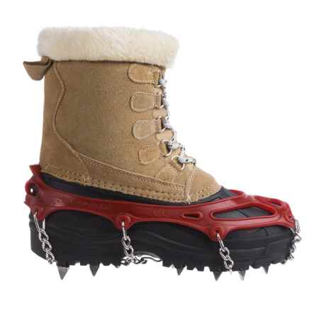 Snowline Chainsen Pro Winter Boot Tractions (For Men and Women) in Red - Closeouts