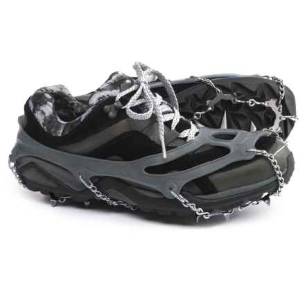 Snowline Chainsen Trail Shoe Chains in Grey - Closeouts