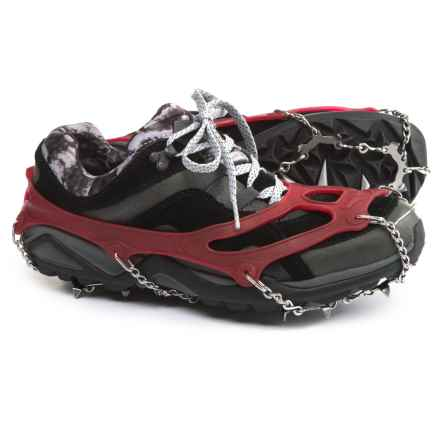 Snowline Chainsen Trail Shoe Chains in Red - Closeouts