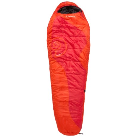 Snugpak 5°F Chrysalis Sleeping Bag - Mummy in Sunset Orange